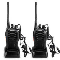 2pcs BaoFeng BF-888S Walkie Talkie UHF400-470MHZ Portable Ham baofeng 888s CB Radio comunicador BF-888S Transceiver