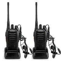 2pcs BaoFeng BF 888S Walkie Talkie UHF400 470MHZ Portable Ham Baofeng 888s CB Radio