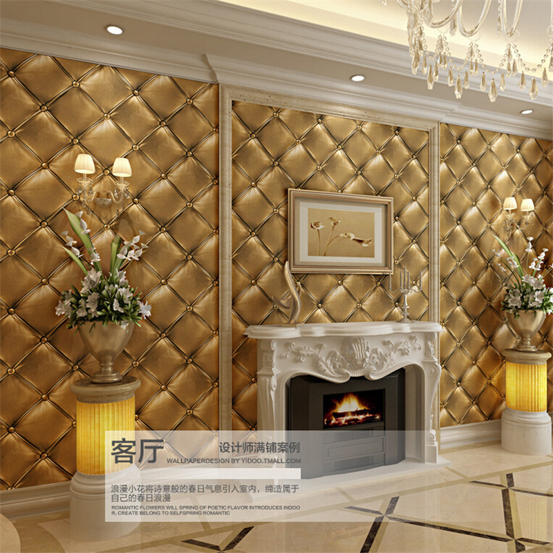 ФОТО beibehang 3D stereo imitation flex pack PVC wallpaper living room bedroom aisle Hotel TV background wall Papel de parede