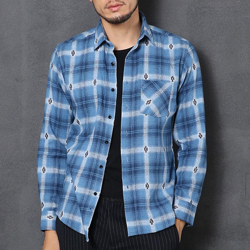 100% baumwolle männer Flanell Plaid Shirt Langarm Slim Fit Mode Weiche Herbst Kleidung Hohe Qualität Checkerd Mann Lässig shirts