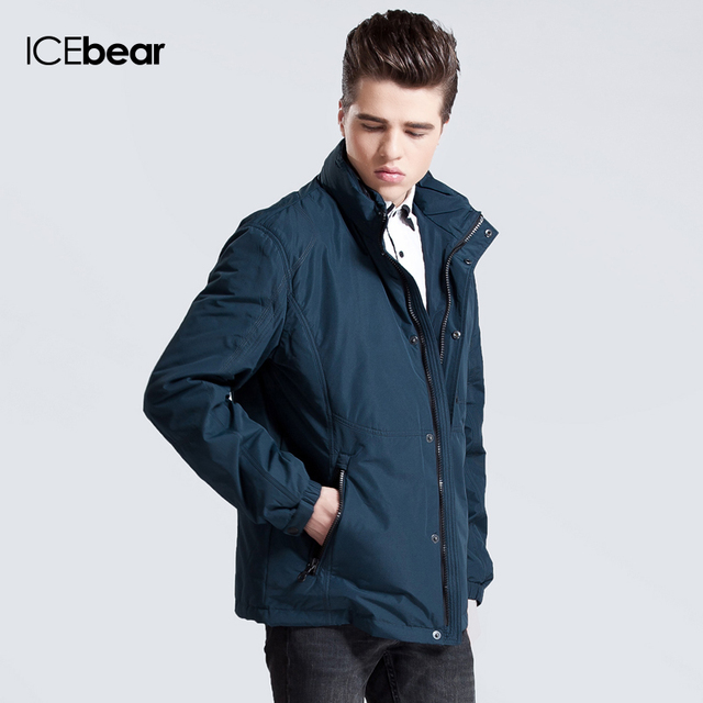Men Fashion Plus-Size Parka Clothes Full Sleeve Casual Jacket Coat