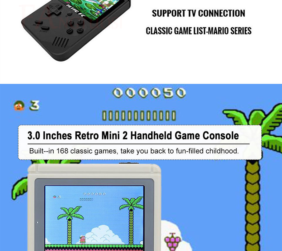 Consola de videojuegos FANGTUOSI 8 bits 5