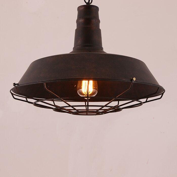Современные подвесные светильники Nordic Ретро свет американский Винтаж промышленных лампа Эдисона подвесной светильник светильники