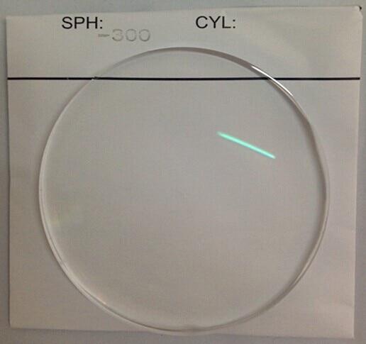 Myopia coated aspherical anti-radiation super thin glasses lenses anti-reflective coated -1 -1.25 -1.5 -1.75 -2 -2.25 -2.5 to -5