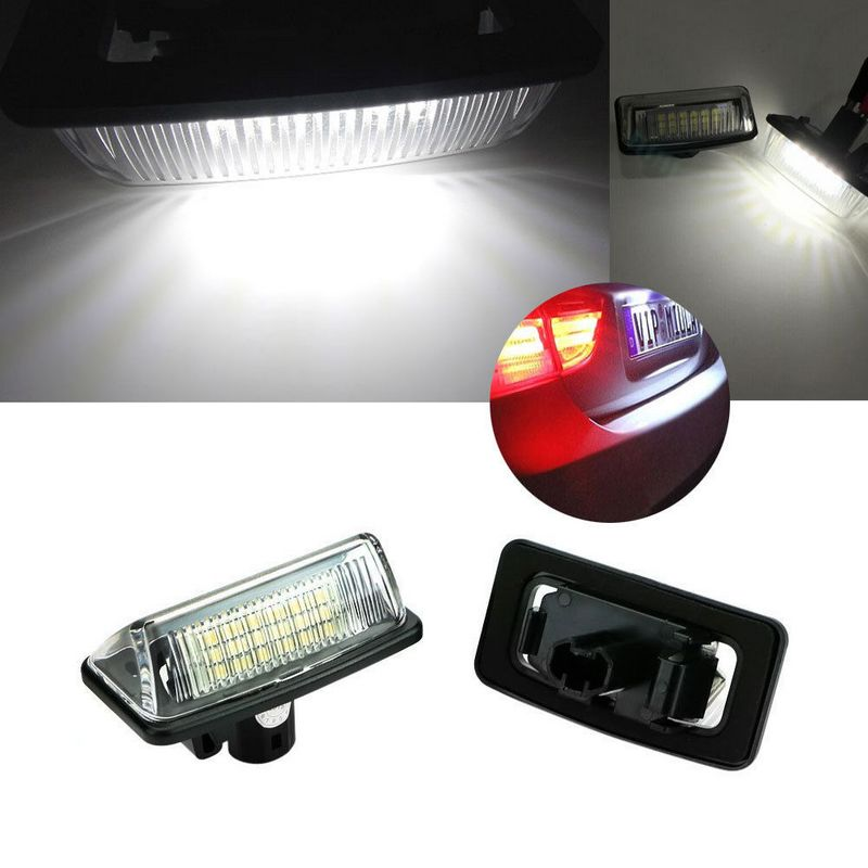 CYAN SOIL BAY 2x 18SMD LED Number License Plate Light Lamp fit For Toyota Crown 2003-2009
