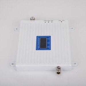 Image 2 - 4g 부스터 GSM WCDMA LTE UMTS 2g 3g 4g 휴대 전화 신호 부스터 70dB 900 1800 2100 트라이 밴드 신호 증폭기 리피터 유닛