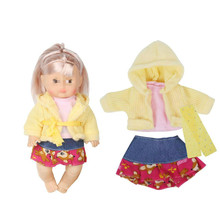 Huang Cheng Toys 6 Suits Clothes for 12 Inch Doll Fashion Baby Dress Outfits  Accessories Doll Girl Gifts Kid Toys Wholesale