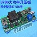 Бесплатная доставка DC-DC ноутбук повышающий модуль Ввода 2.5-24 В Может вызвать 3.5-24 В 100 Вт LTC3786