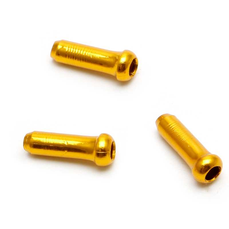 30 pçs conjunto de 7 cores fio freio fim cabo tampa peças de alumínio mtb bicicleta linha núcleo tampa capa freio de mudança engrenagem