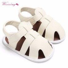 Cute 2019 Newborn Baby Boys Shoes PU Leather kids schoenen First Walkers Soft Soled  Infant Prewalker