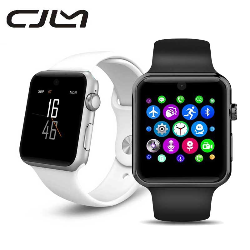 DM09 Bluetooth font b SmartWatch b font Magic Knob 2 5D ARC HD Screen For IOS