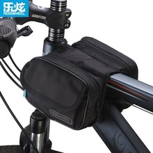Roswheel Bicycle front pack Cycling Sport Frame Front Tube Double Sides Saddle Bag Package Mobile Phone Key Case Pack Pouch
