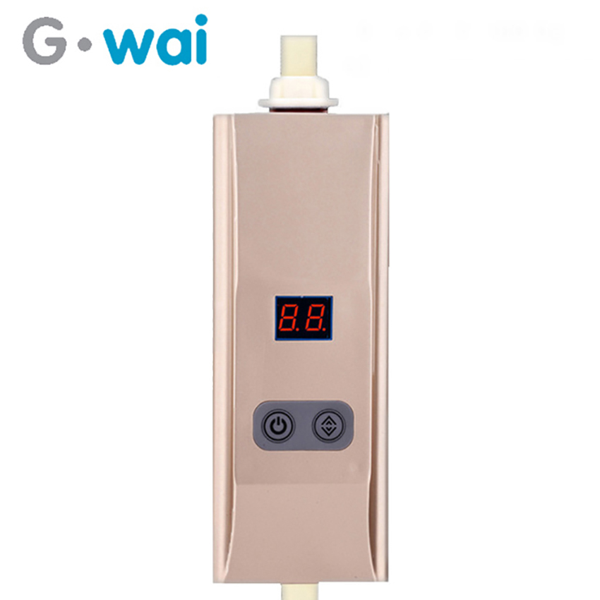 GWAI Instantaneous Electric Bathroom Water Shower Heater Instand Tankless Kitchen Portable Instant Water Heater 220v Calentador