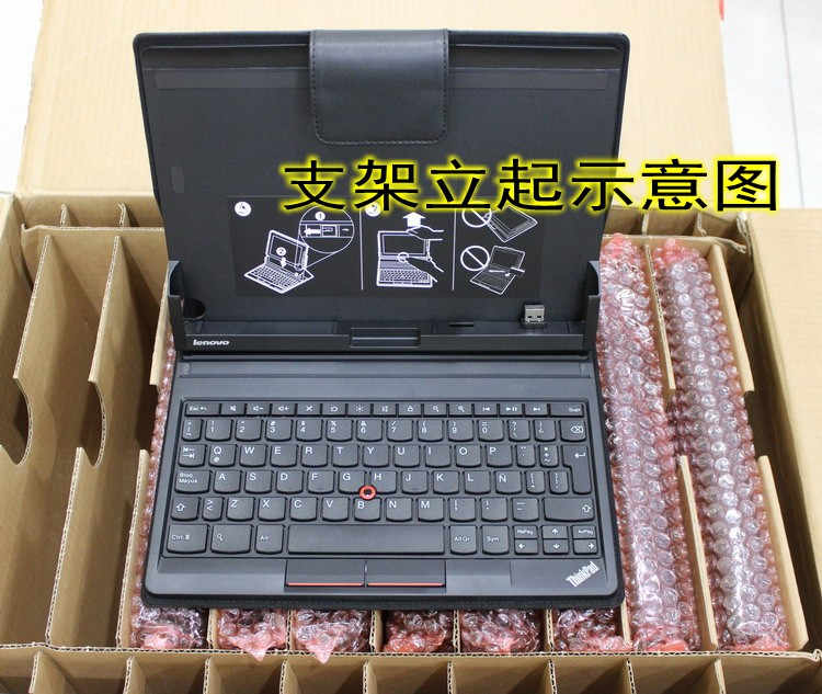 New Original for Lenovo ThinkPad Tablet Keyboard Folio Case US English 0B33534 03X6376 new original us english keyboard thinkpad edge e420 e420s e425 e320 e325 for lenovo laptop fru 63y0213 04w0800 page 7