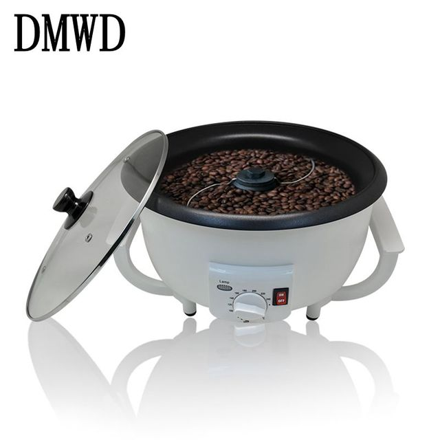 DMWD Household Electric Coffee Roasters Temperature Adjustable Dried ...
