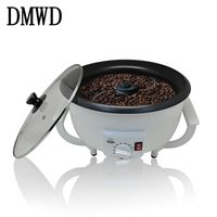 DMWD Household Electric Coffee Roaster Temperature Adjustable Dried Peanuts Vegetables Coffee Beans Baking Machine