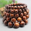 17 grains of natural red sandalwood willow wood beads 12mm. Handicrafts wholesale wood beads bracelet men and women jewelry