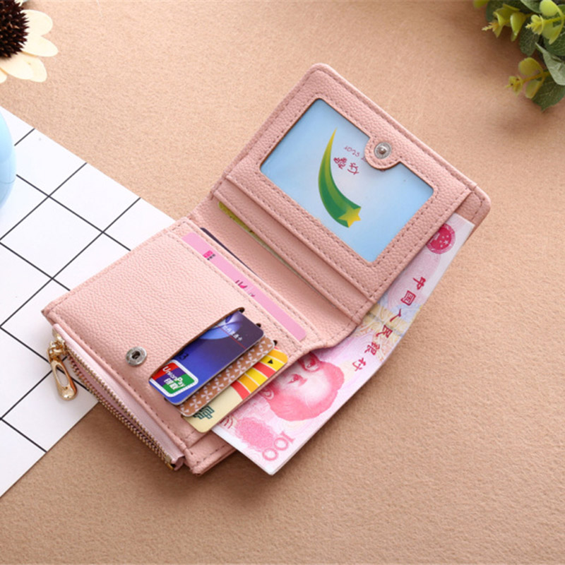 Wallet Lovely Clutch Embroidery mini Clutch Thin Travel lady's card Rfid Wallets Coin puses Wallet Carteras portefeuille Bolsa 4