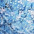 3 M * 10 M rede de camuflagem filet azul camo Compensação para a decoração do partido de sombreamento sol sol praia dossel toldo lona da barraca de praia