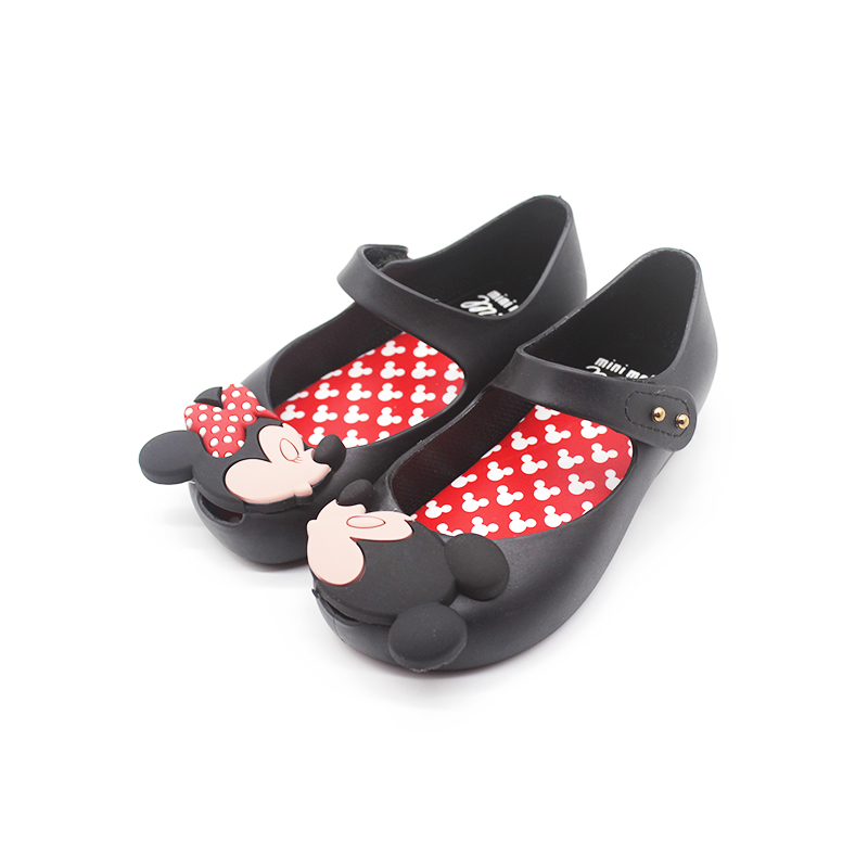 Mini Melissa Ultragirl Sweet Girls Shoes Twins Mouse 2019 New Style Kid Shoe Beach Sandal Cute Melissa Girls Jelly Sandals