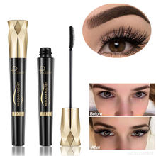 4d Silk Fiber Lash Mascara Curling Volume Express Eyelashes Waterproof Liquid Rimel 3d Fiber Lash Extension Mascara Cosmetic(China)
