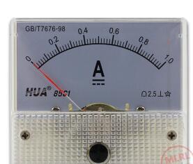 85C1 аналоговый измеритель тока DC 30A AMP Амперметр 3A 5A 10A 15A 20A 30A 50A 100A 200A 300A