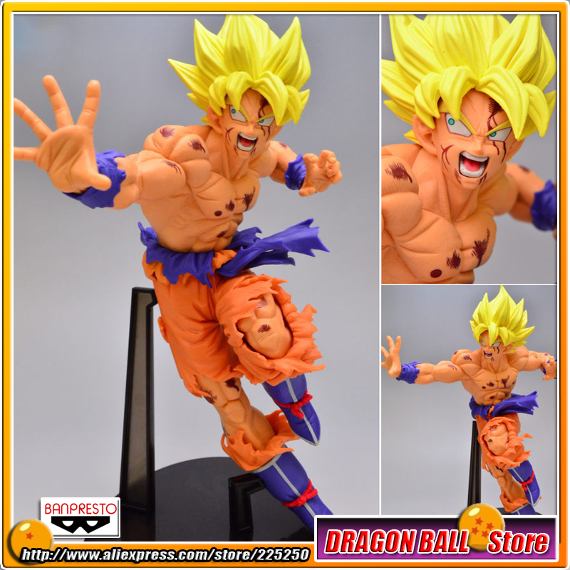 Japan Anime Dragon Ball Z/Kai Original BANPRESTO SCultures Zoukei Tenkaichi Budoukai 5 Toy Figures - Super Saiyan Son Gokou 2x 35w car hid bulb h4 bi xenon light h4 hi lo beam hid bulbs bi xenon h4 3 for auto headlight 12v ac 4300k 6000k 8000k 10000k