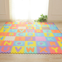 Kid's Multicolored Numbers Puzzle Play Mat EVA Drop proof Moisture proof Bubble Mat @ZJF