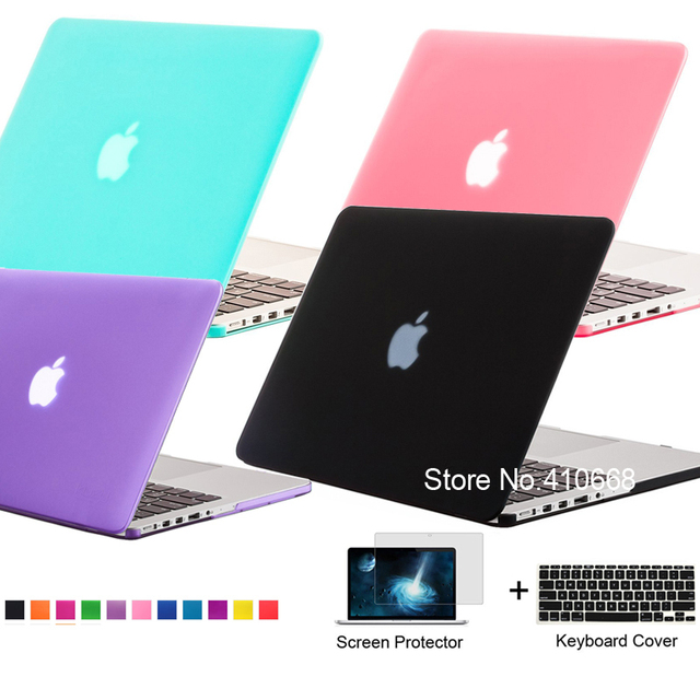 Matte Rubberized Frosted Case Laptop Shell For Apple Macbook Air