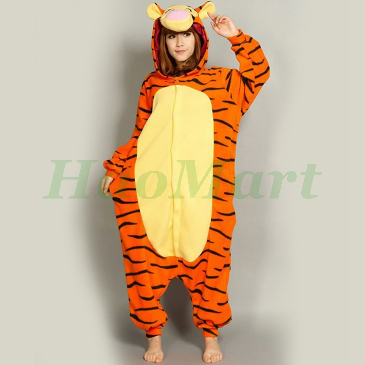 Wholesale Halloween Onesie Hooded Tiger Onesie Costume One Piece ...