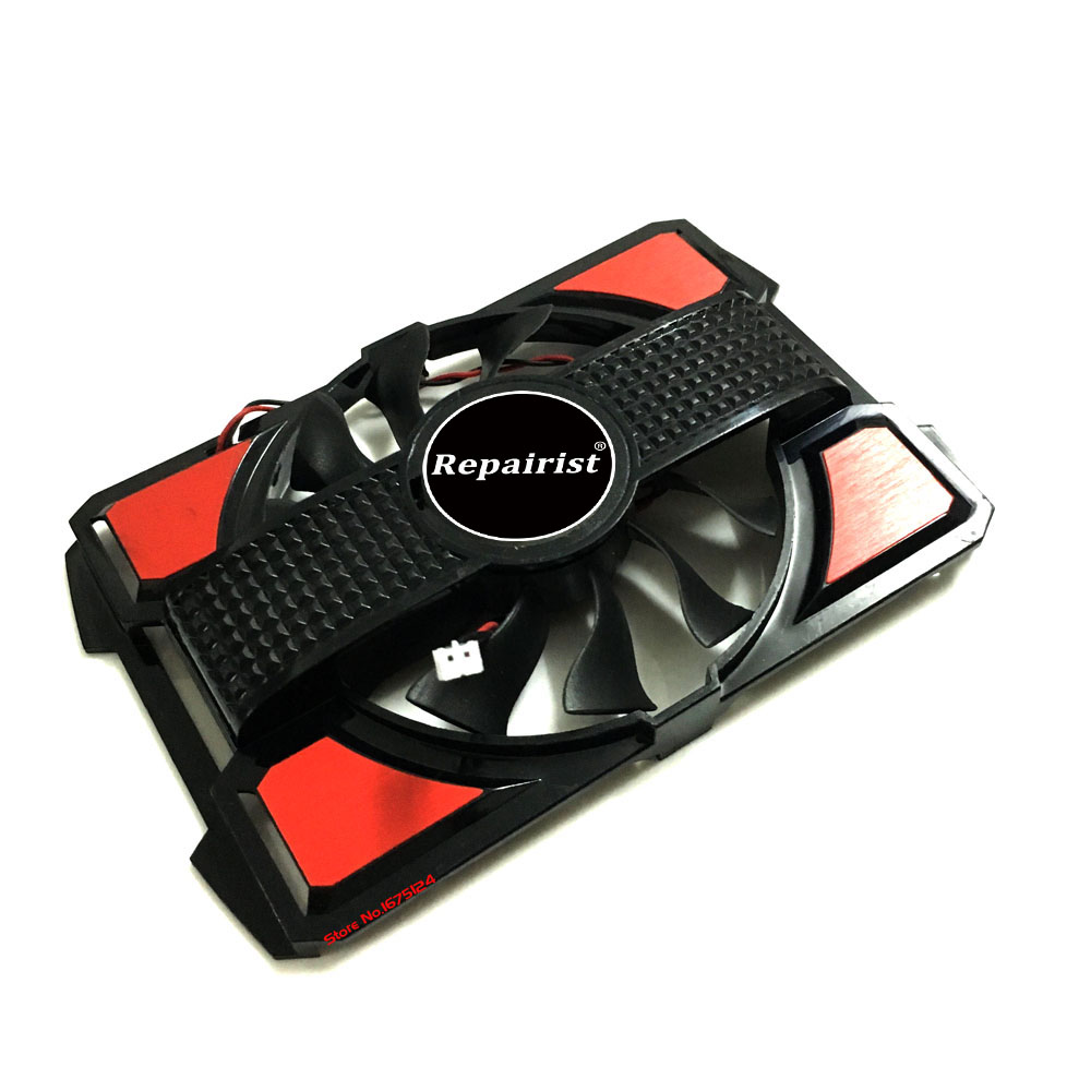 Computer Radiator Cooler Fan With Frame For ASUS EAH5570 EAH 5570/DI/HM512MD3 Graphics Card VGA Vedio Card Heatsink Cooling