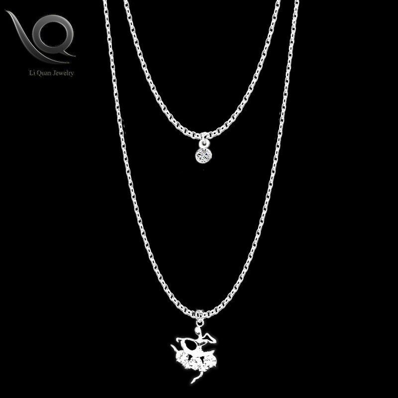 Li quan jewelry brand long ballet dancer necklaces pendant fashion li quan jewelry brand long ballet dancer necklaces pendant fashion romantic cubic zirconia statement necklace for women lqx 26 in pendants from jewelry mozeypictures Image collections