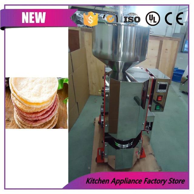 Heißer Verkauf Thai Reis Kuchen Hersteller Pop Herstellung Maschine