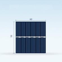 10x الخلايا الشمسية 60x55 مللي متر 3 v 150ma لوحة طاقة شمسية مصغرة سنباور DIY نظام لوحات ل الشمسية بطارية مصباح اللعب الهاتف شاحن