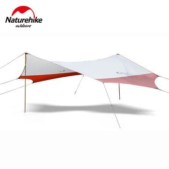Naturehike открытый тент палатка Кемпинг большой беседка брезент беседка складной навес палатка для автомобиля солнцезащитный навес NH16T012-S