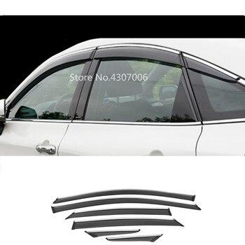 For Toyota Avalon XX50 2018 2019 2020 car body styling cover sticker lamp plastic window glass wind visor rain/sun guard vent