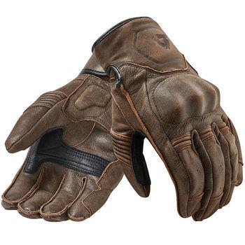 Gants de moto Revit de qualité avec empiècements en cuir véritable