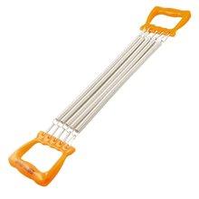 CSS Ребенок Orange Handle Five Спрингс Грудь Expander Потяните Тренажер