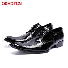 Okhotcn/Новое поступление; модные классические мужские туфли