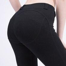 Длинные брюки леггинсы Женская одежда карандаш брюки 2019 новые женские брюки с высокой талией