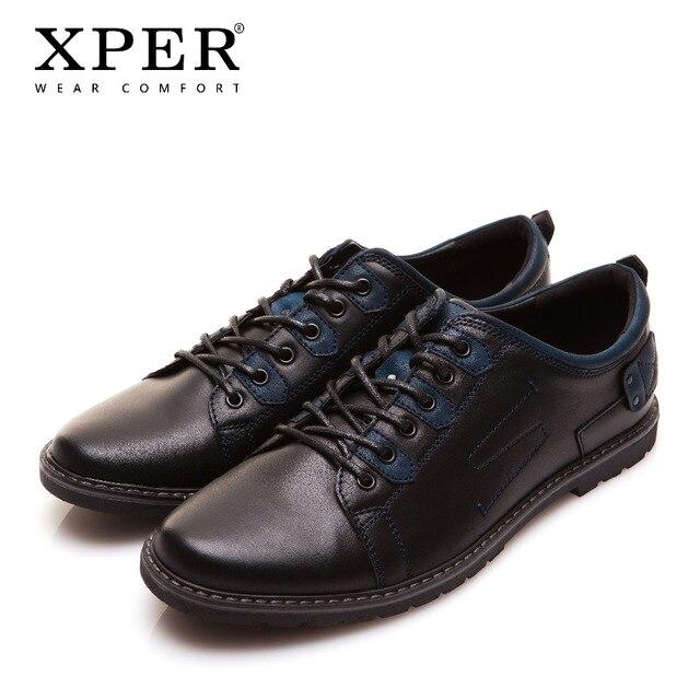 2016 xper бренд Для мужчин повседневная обувь смешанные цвета дышащие мужские туфли на плоской подошве Роскошная обувь для Для мужчин большой Размеры YM86819BU