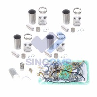 4D31 4D31T Engine Rebuild Kit For Kato HD250 HD400 HD450 Excavator Mitsubishi Fuso Canter Truck