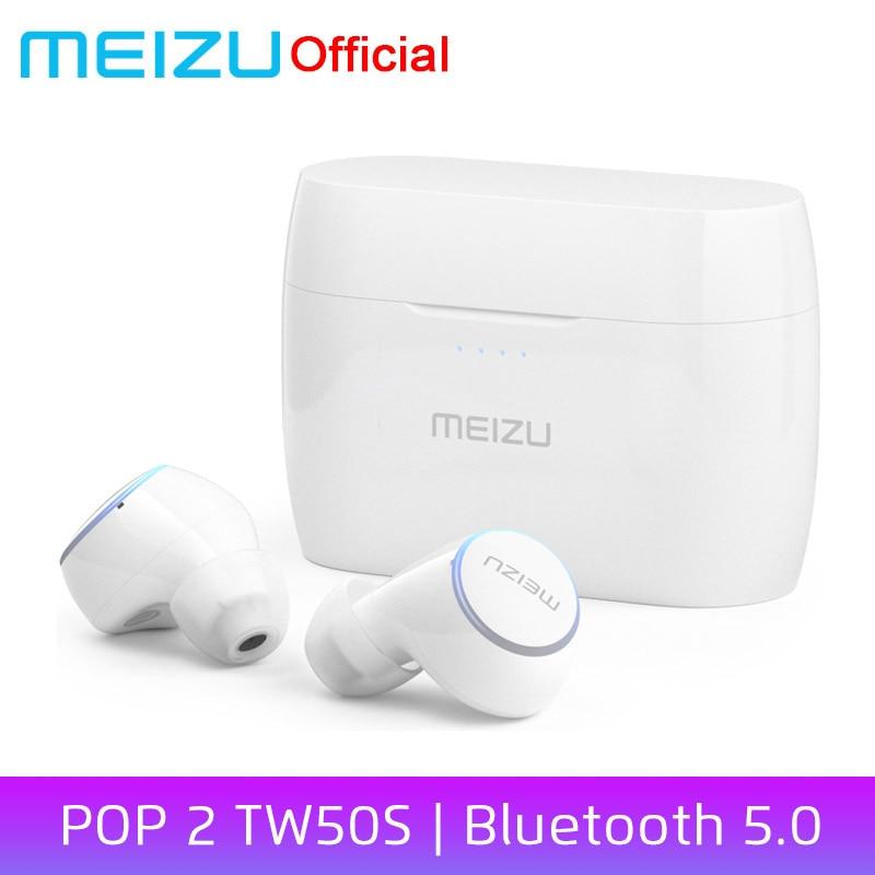 Global Version Meizu POP 2 Bluetooth 5 0 Earphone TW50S Wireless Earbuds IP5X In ear Sports