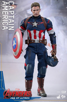 The Avengers 2 Captain America 1 6 Joint Movable PVC Action Figure Model Collectible Toy 32cm