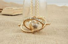time turner necklace hourglass vintage pendant for women lady girl