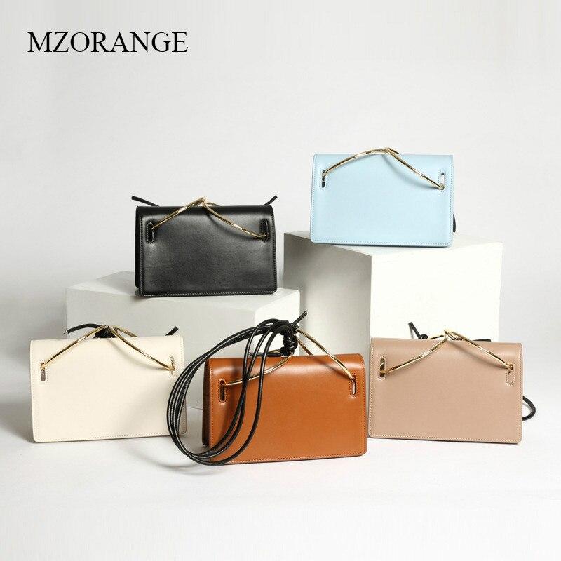 MZORANGE Brand New Women Shoulder Bags Simple Flap Round Ring Messenger Bags Fashion Small Bags Lady Crossbody Bags Handbags