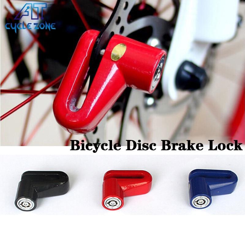 Цикл зоны велосипед Велосипедный Спорт Противоугонная диска тормозного диска ротора замок для Скутер Ховерборда Велоспорт мотоциклетные