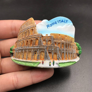 Image 3 - 1Pcs Fridge Magnet Sticker Creative Dubai VERSAILLES GREECE  VIENNA Tourist Souvenir Refrigerator Stickers For Home Decor