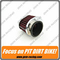 Universal Stainless Ring Motorcycle Air Filter 42MM 45MM 48MM 52MM 54MM Motorcycle Air Filter Cleaner For Yamaha Kawasaki Suzuki