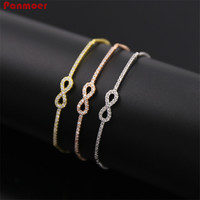 Aliexpress stile Folk Squisita delicato 8 parole telescopico Bracciali e braccialetti per le donne pulseira masculina amore braccialetto
